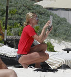 Kate Bosworth | Bikini Candids on the Beach in Mexico | April 12 | 25 pics