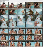 PRISCILLA PRESLEY - bikini fun on Dallas s08 e04 & 05 (DVD rip) - 2 clips