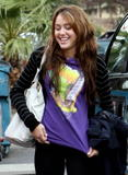*ADDS* Miley Cyrus Goes Shopping with her sister at Urban Outfitters in LA 12/08/08- 26 HQ